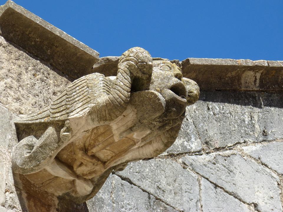 Gargoyle Sculpture Gothic Architecture Medieval