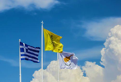Flag, Country, Nation, Symbol, Greece