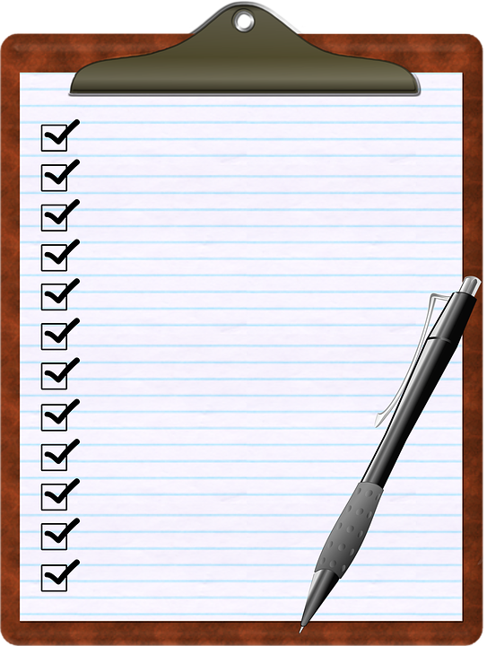 checklist clipboard pen free image on pixabay