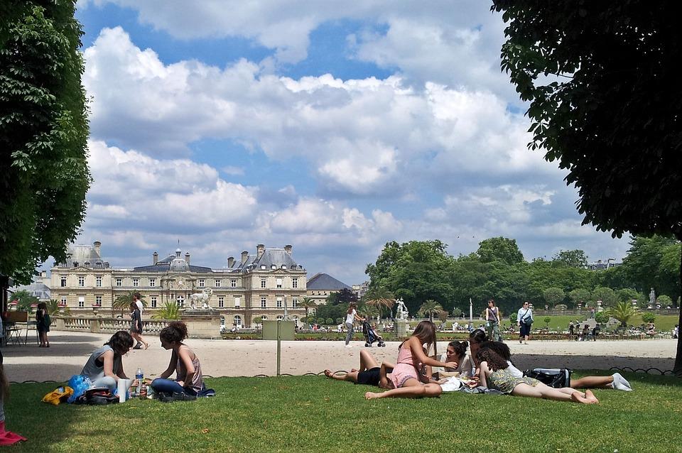 Paris, Park, Garden, Jardin Du Luxembourg