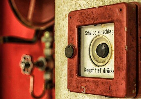 Alarm, Feuer, Brand, Rot, Sicherheit