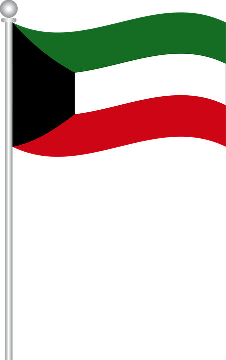 Free Vector Graphic Flag Of Kuwait Flag Kuwait World