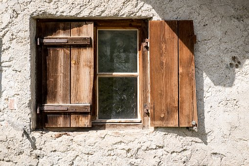 Window Old Old Window Shutters Wood Wooden