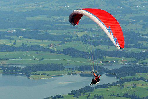 Paraglider, Paragliding, Flying, Freedom