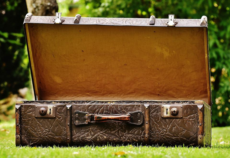 Free photo luggage antique leather free image on - Vintage suitcase ...