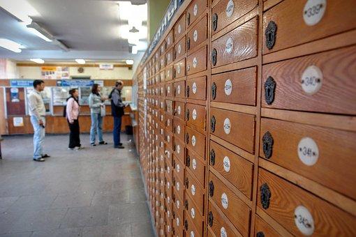 ロシア, ポスト オフィス, ポスト, スイッチ, 郵便局のレター ボックス