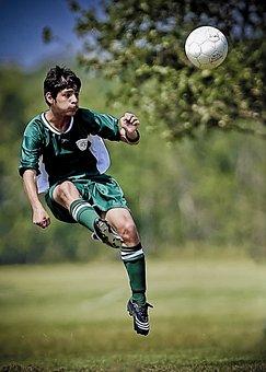 Soccer, Kick, Kicking, Ball, Sport
