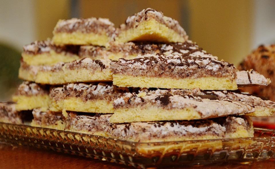 Kuchen aus nussecken