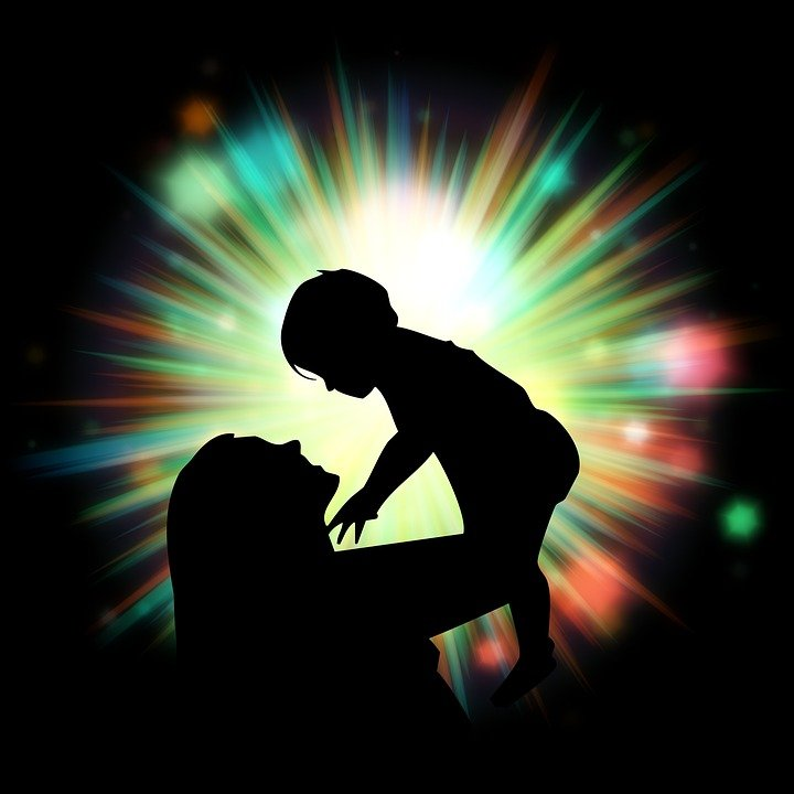 Moeder En Baby, Familie, Baby, Moeder, Kind