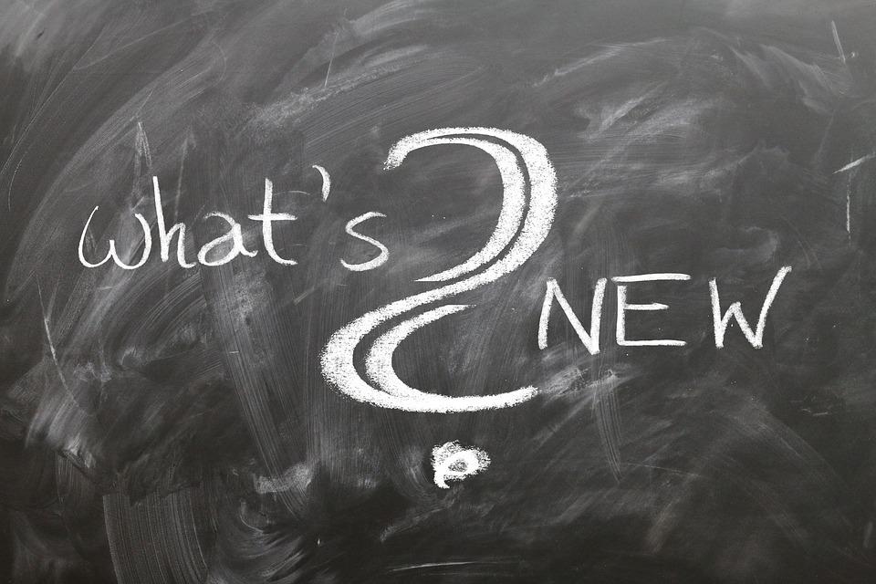 ボード, 学校, ニュース, 新しい, イベント, 新機能, 筆記板, 黒板, チョーク, 質問, 通知
