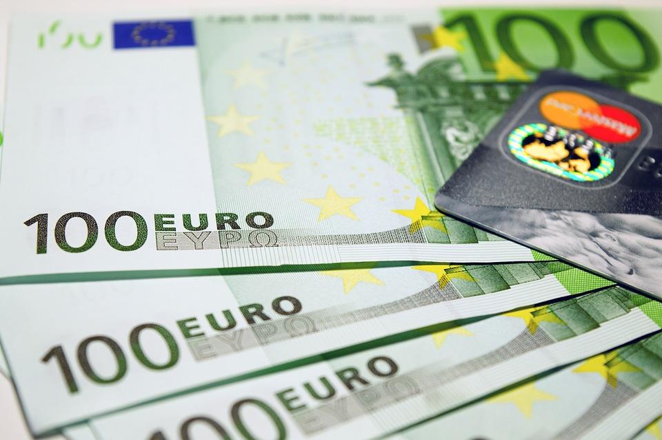 ユーロ, マネー, 現金, 財源, 経済, 利益, ビジネス, 危機, 給料, 通貨, 収益, 豊富な, 破損