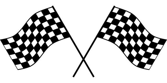 Checker, Flag, Race, Checkered Flag