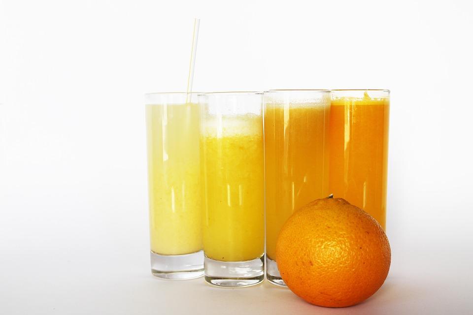 Naranja, Jugo De, Bebida