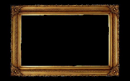 Classic, Gold, Ornate, Antique, Photo