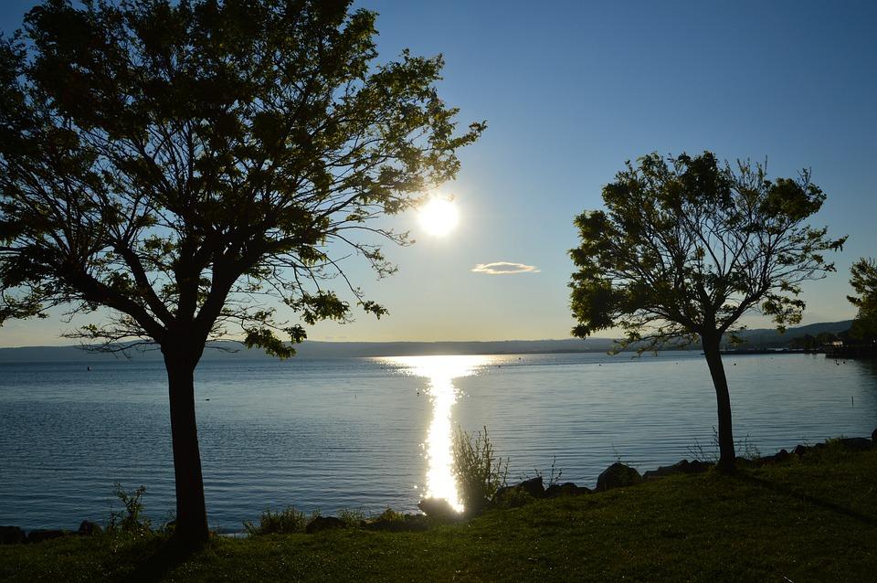 Bolsena, Lago Di Bolsena, Italia