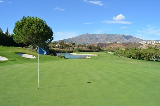 Golf, Spain, Santana, Golf, Golf, Golf