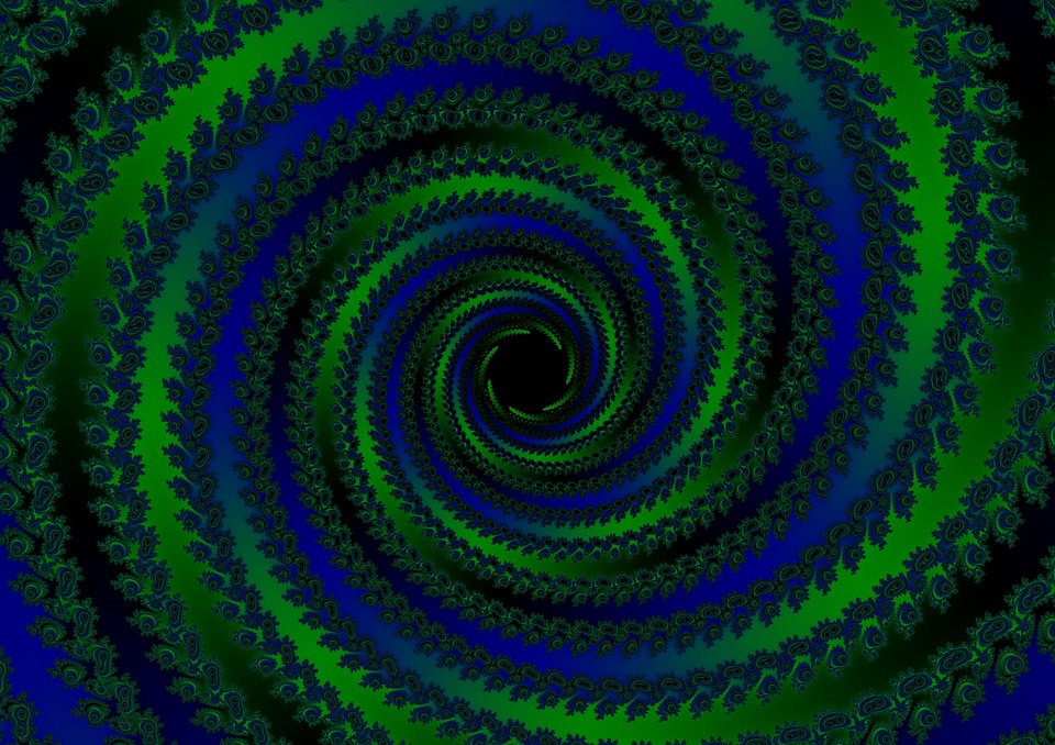 free illustration spiral strudel black hole matrix