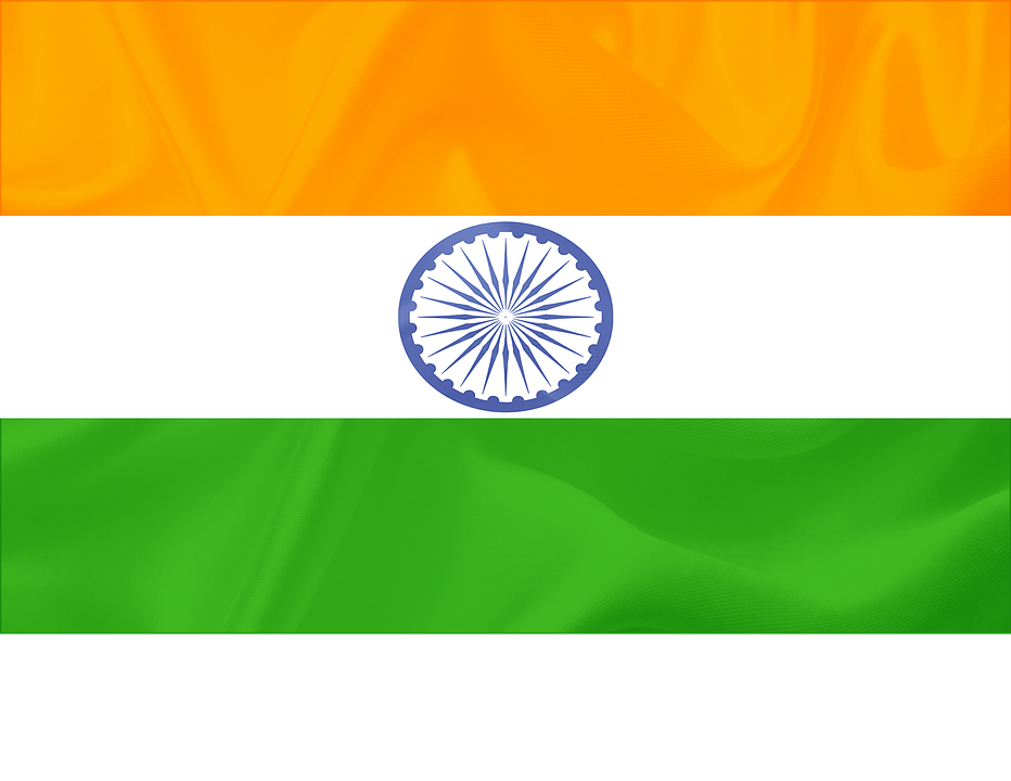 Indian Flag India Flying National Symbol