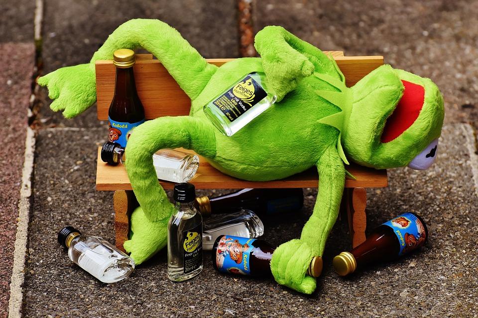 Kermit Frog Drink · Free photo on Pixabay Kermit Drinking Picture