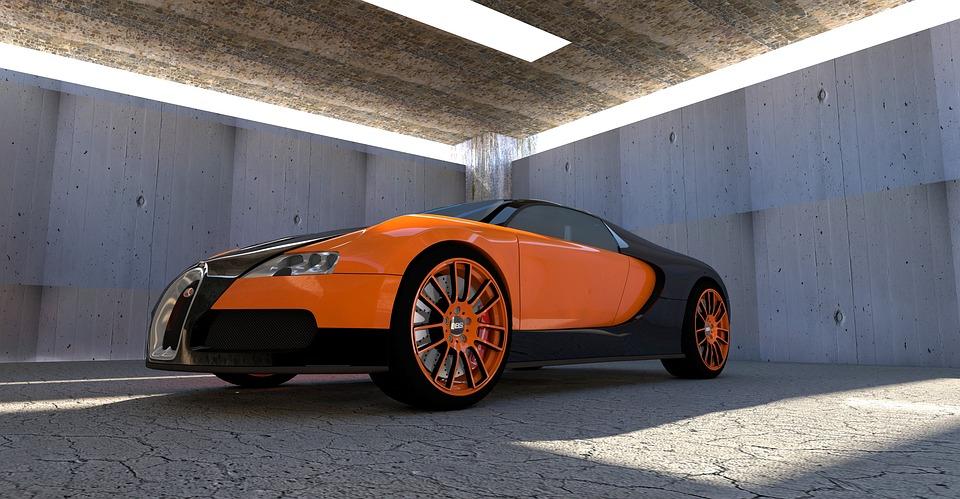 Bugatti Veyron Automobile Free Photo On Pixabay