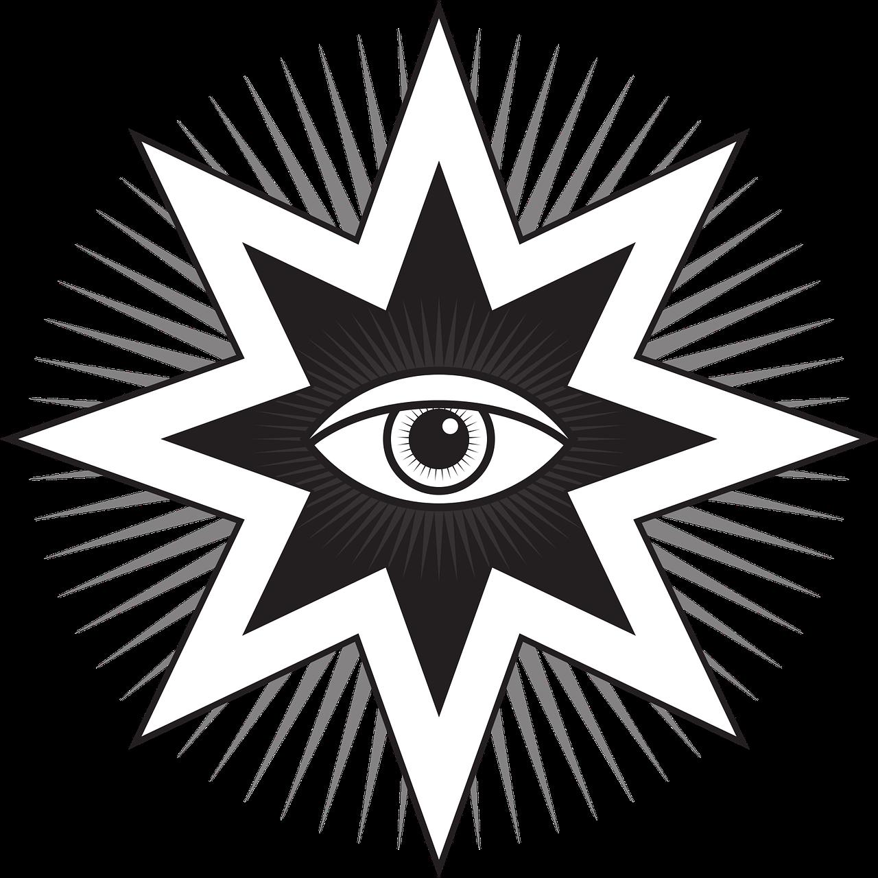 O Olho Que Tudo Ve Simbolo Grafico Vetorial Gratis No Pixabay