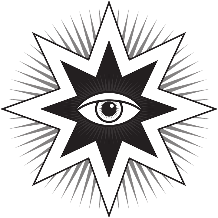 All Seeing Eye Symbol Free Vector Graphic On Pixabay