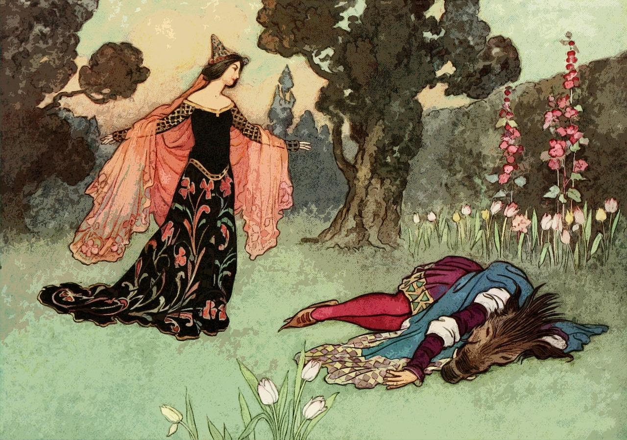 картинки из европейских сказок рунических