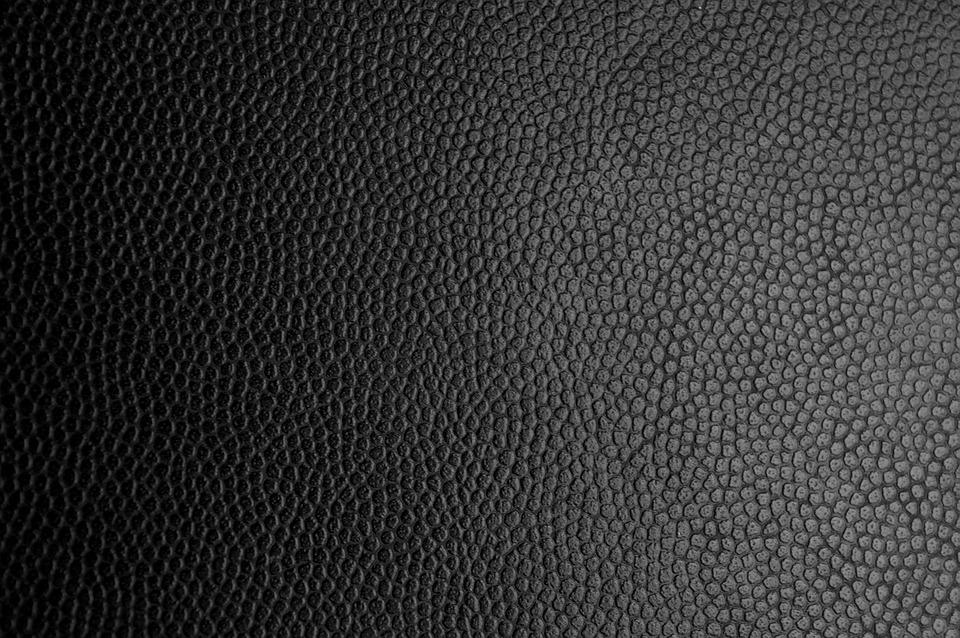 Free Photo Black Leather Texture
