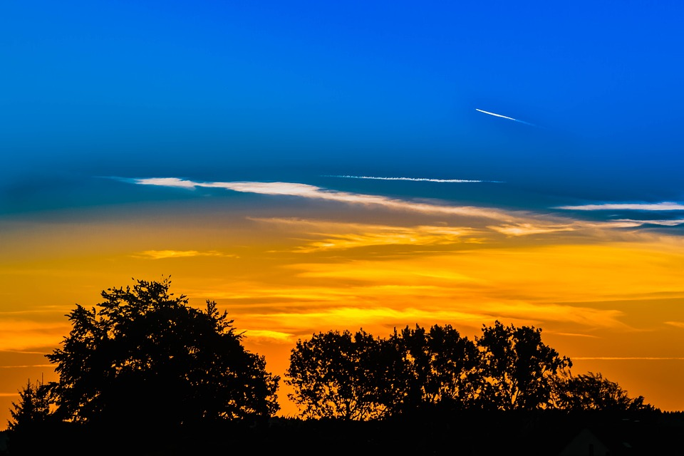 Sunrise Sky Clouds Free Photo On Pixabay