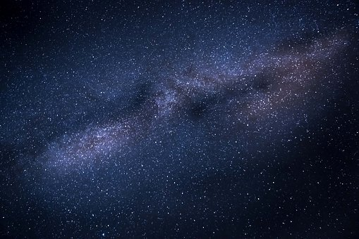 Milky Way Stars Galaxy Space Universe Astr