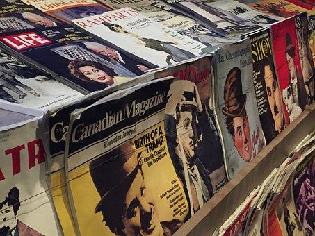 Newspapers, Kiosk, Journal