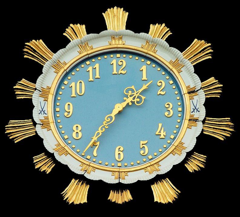 clock time timeless free photo on pixabay