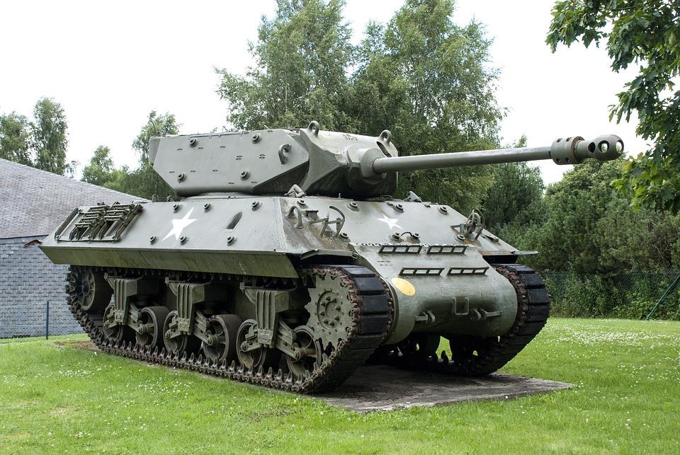 Amerikaanse tank - vakantie ardennen