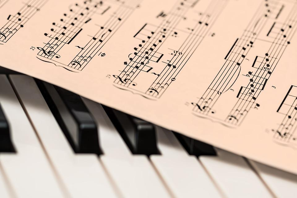 Free photo: Piano, Music Score, Music Sheet - Free Image on ...