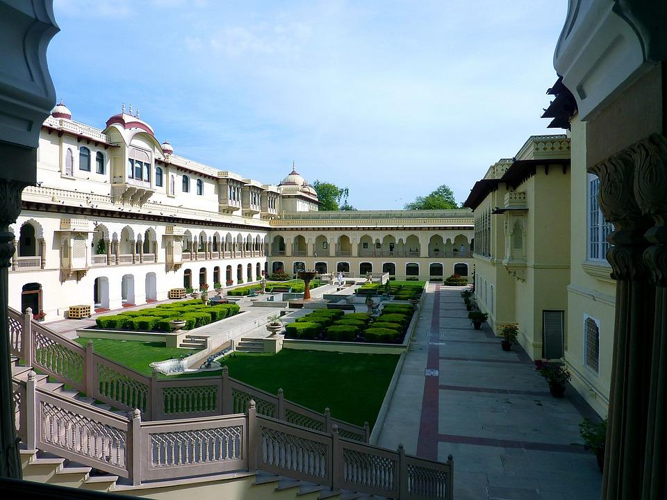 Rambagh Palace in Jaipur
