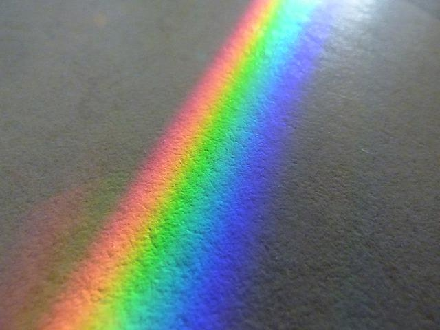 Free Photo Rainbow Color Spectrum Solar Free Image On