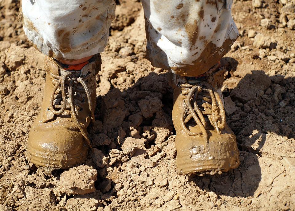 Basic Training Photos >> Free photo: Mud, Footwear, Hiking - Free Image on Pixabay ...