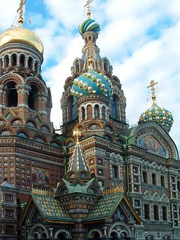 St Petersburg Church Blood Saviour Russia