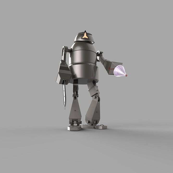 Robot, Futuro, Moderna, Tecnología, La Ciencia
