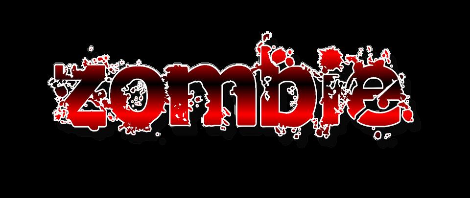 Графика Текст Зомби - Бесплатное изображение на Pixabay