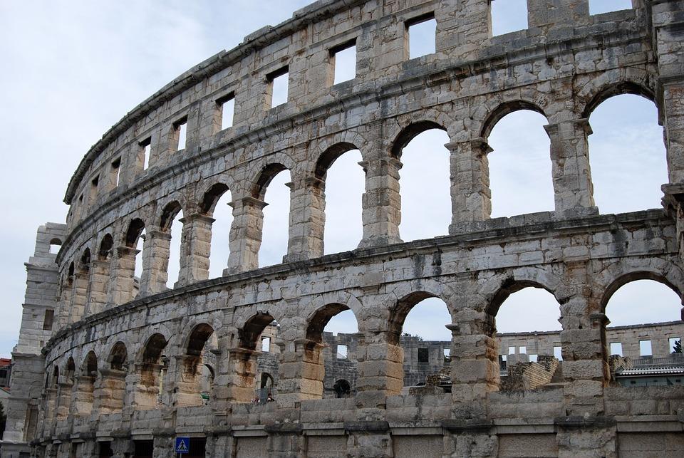 Image result for kroatie ruines