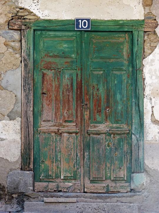 gratis foto deur portaal oude hout vielha gratis