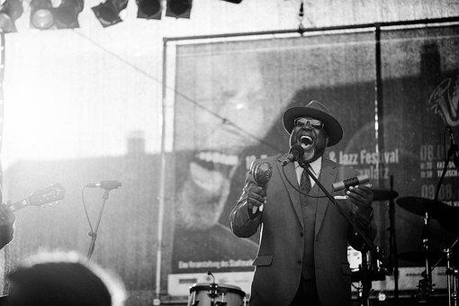 Jazz blues concert music singer americans