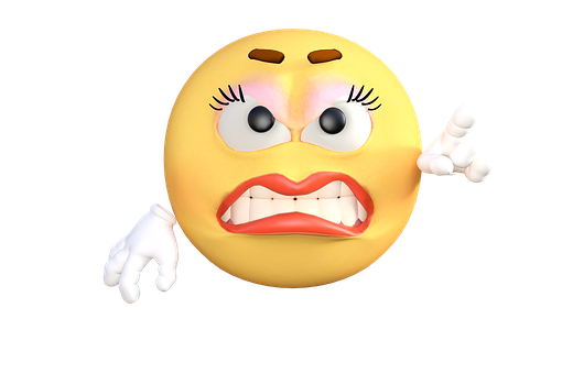 Emoticon, Emoji, Angry, Cartoon, Emotion