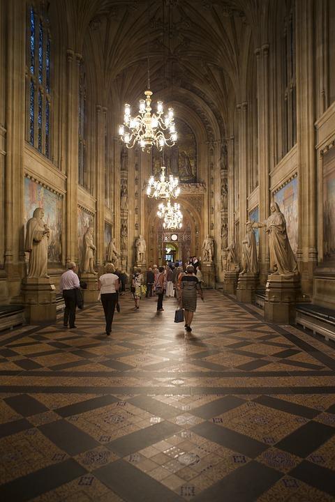 ウェストミンスター宮殿, 権力の回廊, 議会のイギリスの家, ロング・ギャラリー