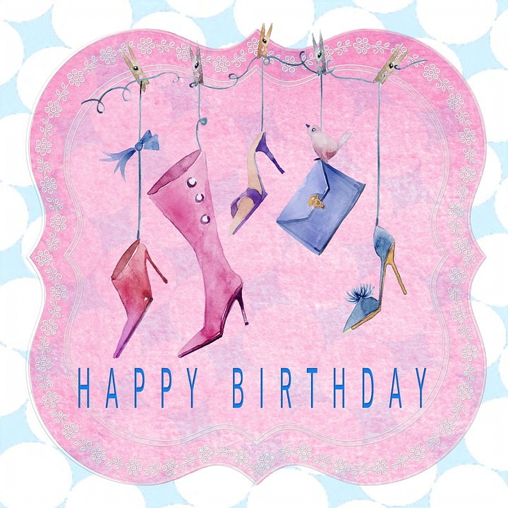 Birthday Card Happy Lady Free Image On Pixabay