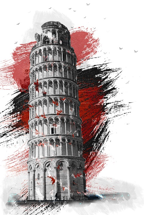 Pisa, Italy, Italia, The Leaning Tower, Travel, Tour