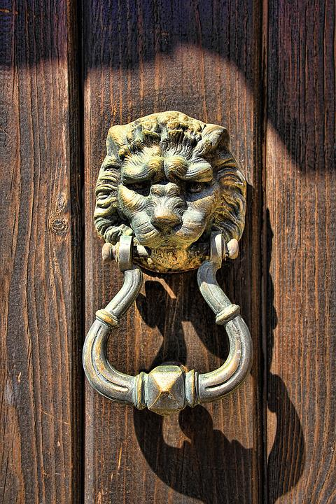 doorknocker lion head door metal input old ring & Free photo: Doorknocker Lion Head Door Metal - Free Image on ... Pezcame.Com