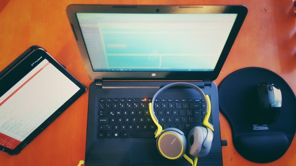 Pc, ノート, 仕事, リラックス, ウェブ, Seo, ワードプレス, レスポンシブ
