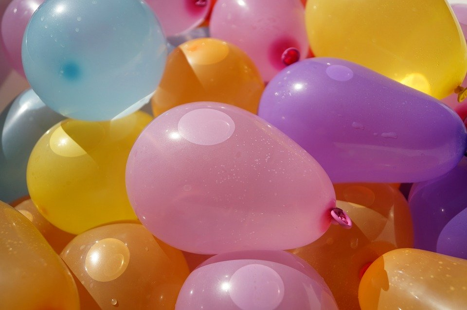 Balloons, Water Bomb, Color, Summer, Kid, Entertainment